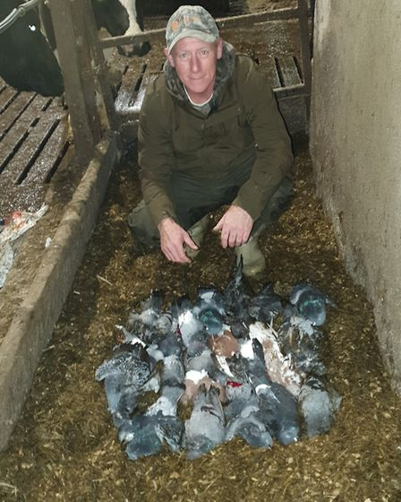 A great little session and plenty of pigeons removed