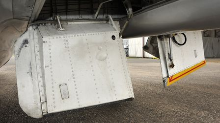 The simple flaps are very much optimised for drag, rather than lift generation
