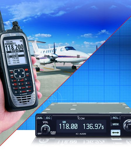 Icom's range of Airband handhelds and panel mount radios meet all the latest regulations and are hig
