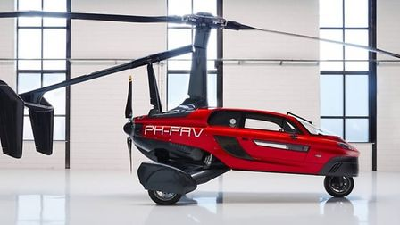 The Dutch flying car PAL-V is only one step away from achieving full EASA certification Credit: Pa