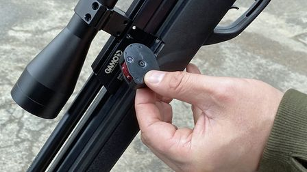 The mag' pushes into the loading port easily