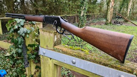 A pretty rifle all I need now is a horse