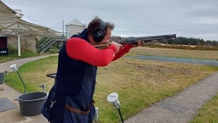Olympic medallist Steve Scott is one of the coaches at the camp, teaching Trap, while Katy Poulsom w