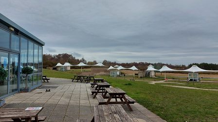 The National Clay Shooting Centre at Bisley makes an ideal setting, with great shooting facilities a