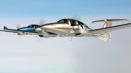 Building on its experience in designing motorgliders, Diamond built a succesfull line of sleek GA ai