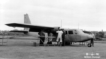 The Britten-Norman Islander, which first flew in 1965, is the only aircraft entirely British made no