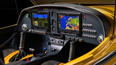 The Bristell B-23 was certified under CS-23 EASA rules. With a modern glass cockpit, the aircraft is