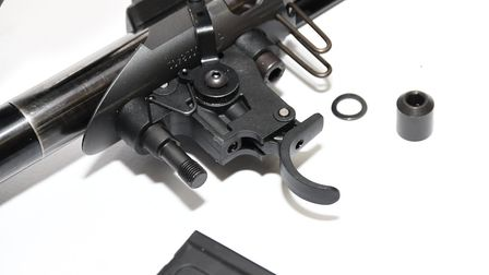 The trigger looks simple but it certainly offers good feel and functionality
