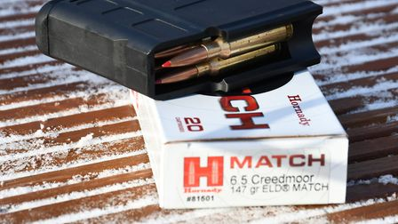 All 140-147gr ammunition from Hornady shot well with this ELD-M taking the small group award of 0.4