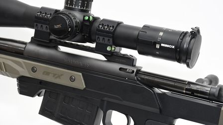 A 20 MOA rail Is supplied, so you can really reach out there if extreme long-range shooting is requi