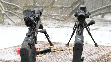 Many similarities with a couple of key differences, not the 60 Vs 90-degree bolt lift and scope clea