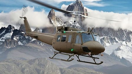 The Lebanese Air Force has been flying UH-1 'Hueys' since the early 1990s