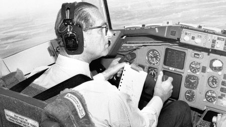 The Duke of Edinburgh logged almost six thousand hours of flying in his life