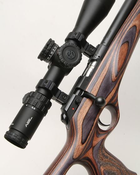 The Primary Arms GLX scope; I have to say it was very good indeed and really complimented the accura