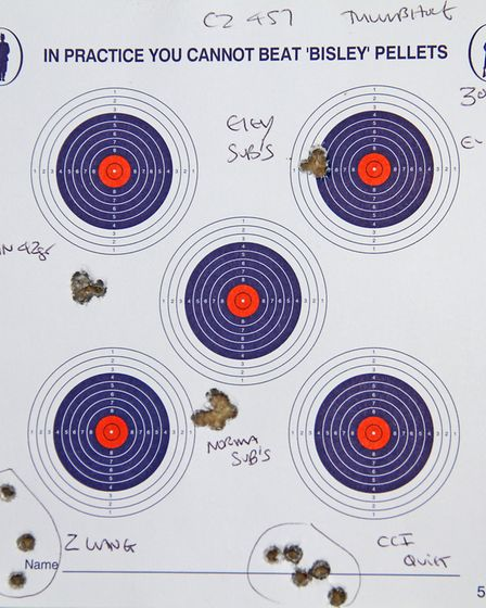 Eley, Winchester and Norma subsonic loads proved spectacularly accurate with this 457, proving the 4