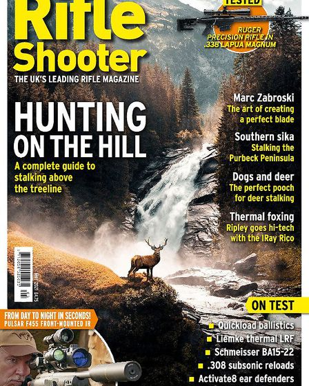 When is the next issue of Rifle Shooter out?