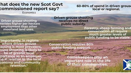 Some of the findings of the most recent grouse moor socioeconomic research, 2020
