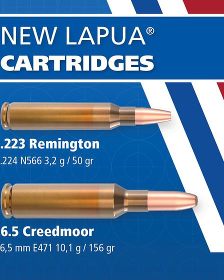 The new hunting bullets, one of which is a copper hunting bullet