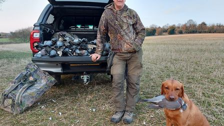 The final bag was around 60 birds and the crop was protected all day long