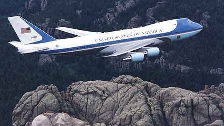 US President Joe Biden will fly into Newquay aboard Air Force One. Credit: BOEING