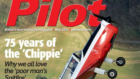 The cover of Pilot's May issue