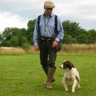 Making rapid changes in direction will keep the dog guessing and keep him interested in you