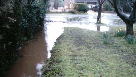 Mike Coles,a resident inWoodwaltonfor more than 52 years, is campaigning for better flood prevention in the village.