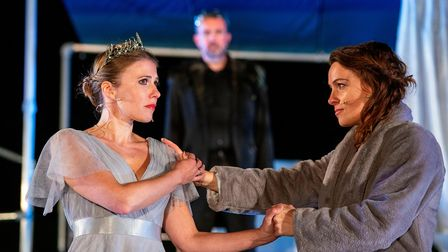 The Winter's Tale at the Roman Theatre Open Air Festival 2021 in St Albans.