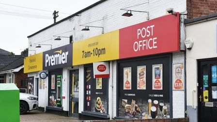 The Post Office branch in the Premier Store on Pakefield Street, Lowestoft.