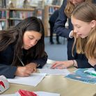 Student sleuths at Sir John Lawes School in Harpenden.