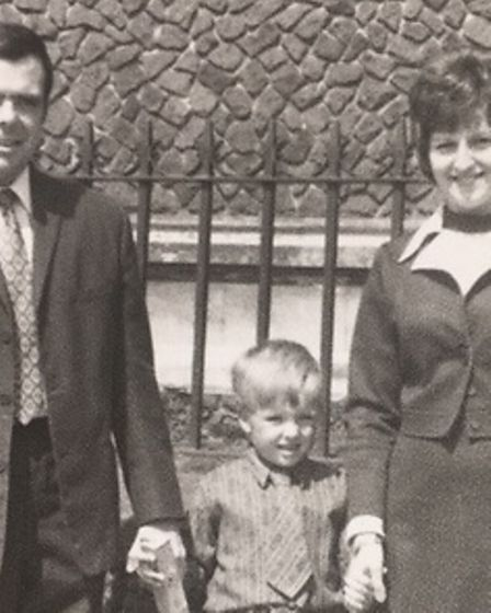 David Johnson's death could be linked to asbestos at St Ives school in the 1970s.