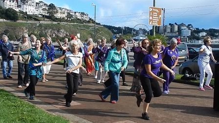 Marianne Parker was the mastermind behind the flash mobs
