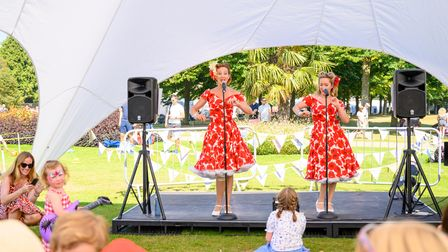 Polka Dots duo will entertain visitors to the new Artisan Collective Fair at Wimpole.