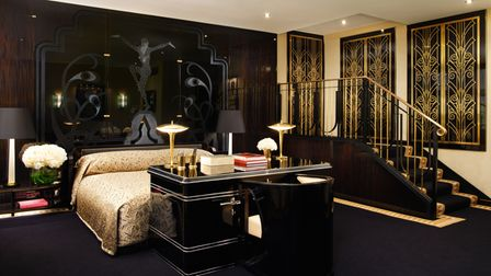The Ruhlman Suite, a homage to the Art Deco designer