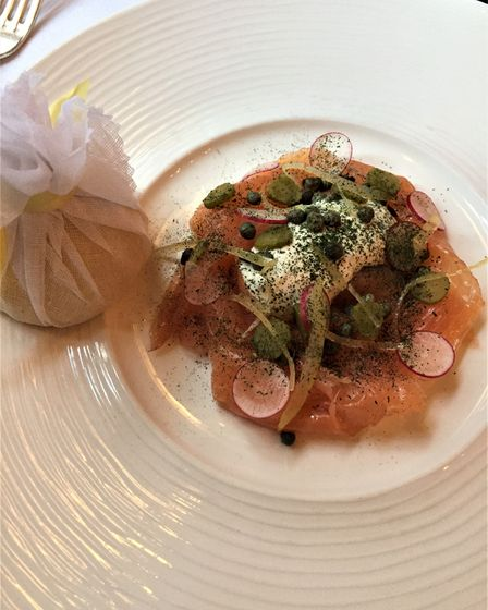 Smoked salmon from the oldest smokery in London