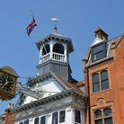 The Guildford Guildhall Clock