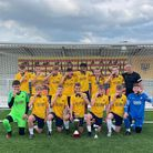 Torquay United's under-16s team - winners of theJunior Premier League National Championships.