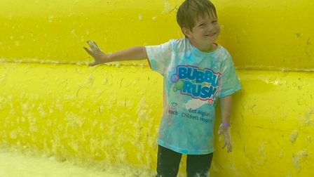 Another Bubble Rush event will be held in King's Lynn in September.