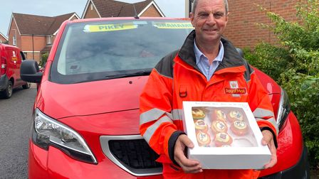 David Pike, who has worked for the Royal Mail for more than 40 years, is retiring. Picture: ELLA WIL
