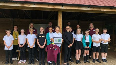 Pupils at Ravenswood Primary school