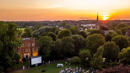You can watch the Wimbledon men's singles final live on the big screen at Hertford Castle on Sunday, July 11.