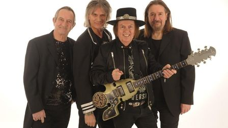 Slade one of the main attractions at WisBEACH Rock festival on August 8