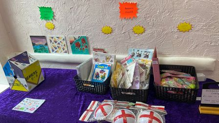 The bargain corner at Crafty Dreamzzz.