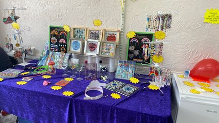 Local crafts for sale at Crafty Dreamzzz.
