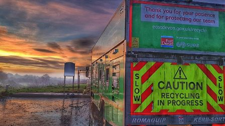 East Devon is setting the pace for recycling