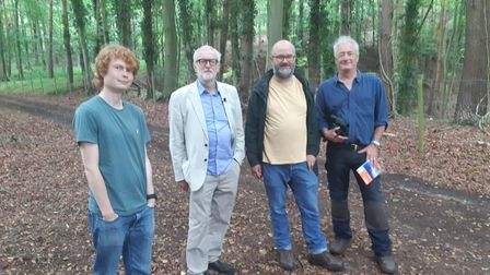 Jeremy Corbyn meeting campaigners against the proposed Norwich NDR link road.