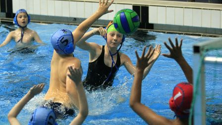 Mini water polo has been introduced at Weston