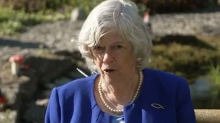 Ann Widdecombe telling Piers Morgan that 'young and healthy' Britons should use public transport to