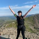 Laura Trimmer completed three peaks challenge