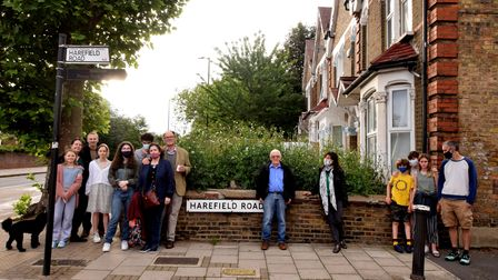 Harefield Road residents say thelight and privacy of their homes will be impacted